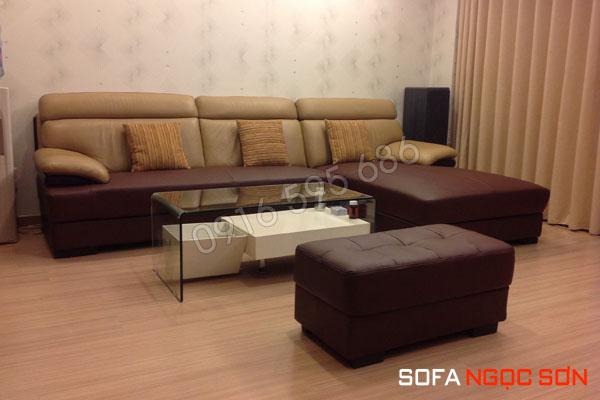 Sofa da Ngọc Sơn – cao cấp, chất lượng tốt cho gia đình bạn