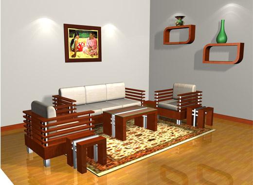 Chọn bàn ghế phòng khách hợp phong thủy