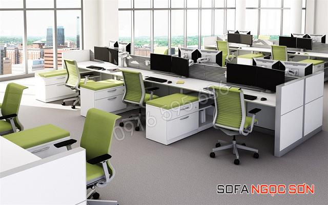 Bọc ghế sofa văn phòng tại Long Biên