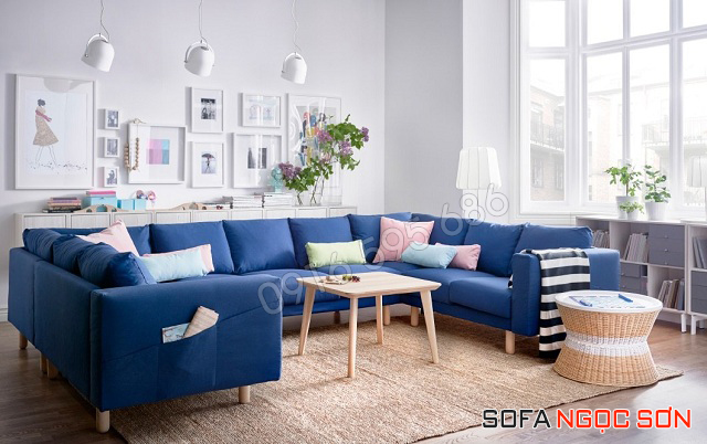 Địa chỉ mua ghế sofa nỉ hiện đại giá rẻ tại Hà Nội