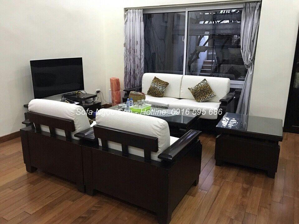 Những mẫu ghế sofa gỗ đẹp quý II