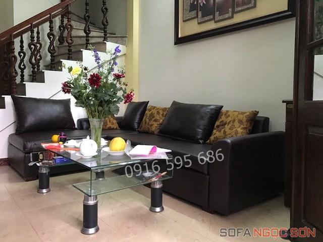 Dịch vụ bọc ghế da uy tín tại Sofa Ngọc Sơn3