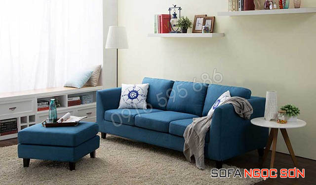 Những mâu ghế sofa phòng khách hiện đại bọc vải mang đầy tính thời trang