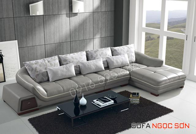 Một bộ sofa da đẹp phải phù hợp với thiết kế không gian