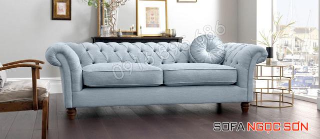 Nét đẹp của chất liệu bọc ghế sofa vải, nỉ