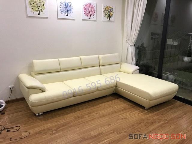 Sofa Ngọc Sơn bọc ghế tốt chất lượng tại Hà Nội1