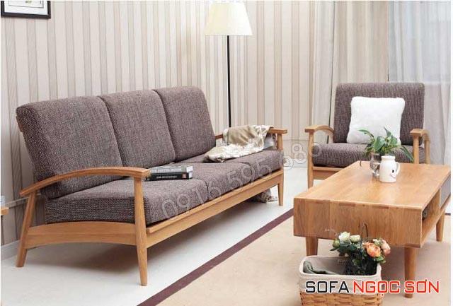 Những mẫu sofa gỗ chữ I đẹp lung linh toát lên vẻ hiện đại và sang trọng