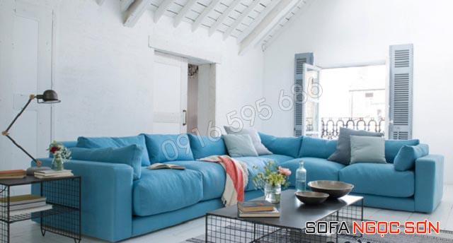 Sofa Ngọc Sơn chuyên cung cấp sofa vải giá rẻ
