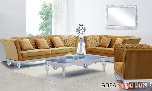 Sofa Ngọc Sơn chuyên cung cấp sofa vải đẹp