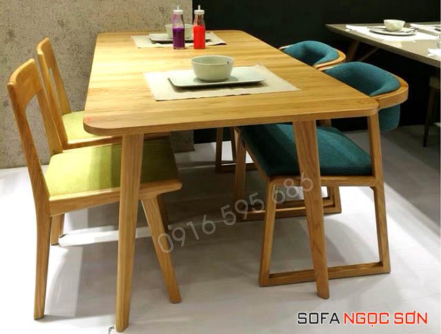 Chất liệu bọc nệm ghế bàn ăn bằng vải