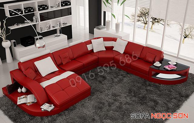Sofa da Hàn Quốc - Sofa Ngọc Sơn