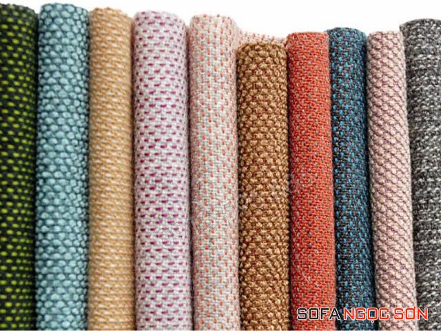 tính chất của các loại vải là mềm, mát và dễ vệ sinh