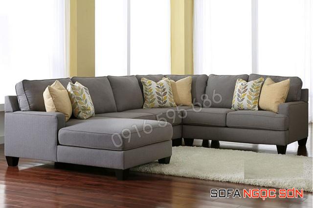 Bộ sưu tập những mẫu sofa vải nỉ đẹp hiện đại năm 2018