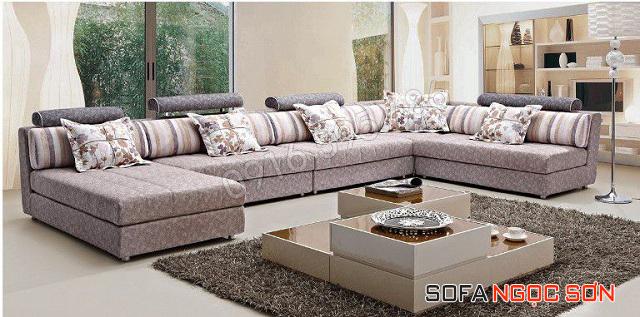 Muốn mua sofa vải đẹp giá rẻ hãy tìm đến Ngọc Sơn