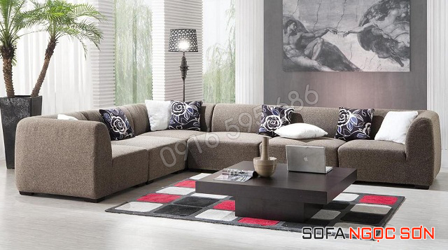 Bọc lại ghế sofa nên chọn chất liệu vải, nỉ