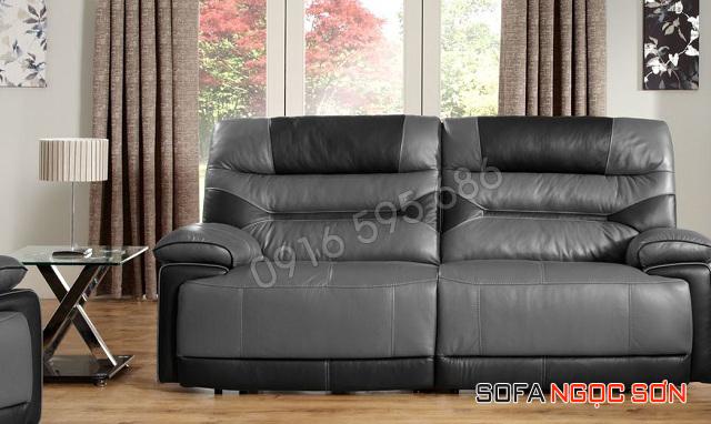 Mẫu ghế sofa da đẹp Ngọc Sơn