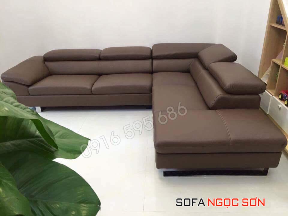 Địa chỉ mua sofa da bò tốt đảm bảo hàng thật uy tín nhất tại Hà Nội
