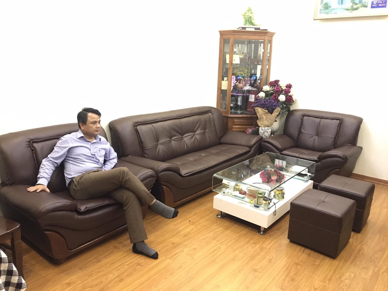 Một số mẫu ghế sofa đẹp Ngọc Sơn bọc tại Gia Lâm